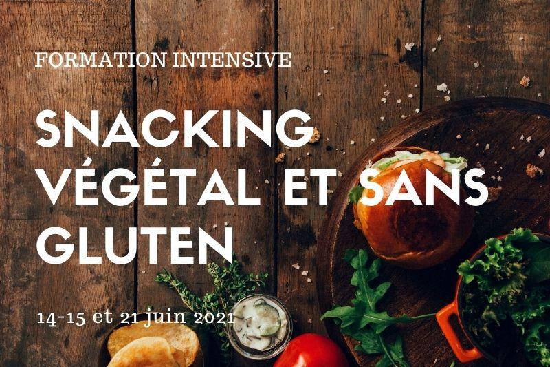 Formation snacking vegan et sans gluten